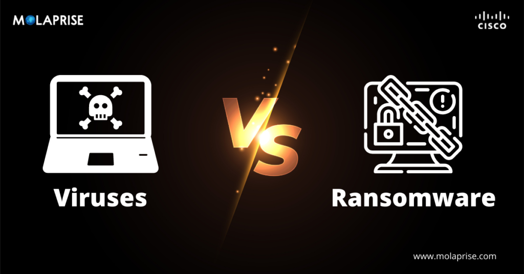 Viruses vs. Ransomware: What Is the Difference?